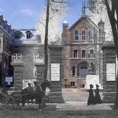 Marc Robidoux, Hôtel-Dieu, 1910/2020