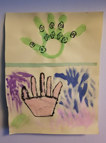 Thomas Armstrong (11 ans), Les mains, non daté
