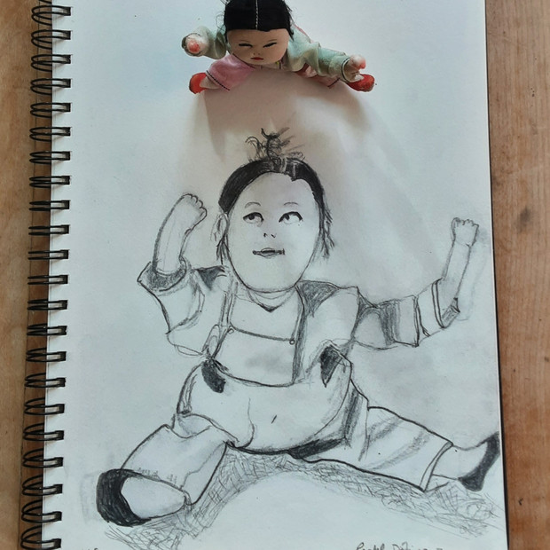 Rachel Landry, La poupée chinoise, non daté