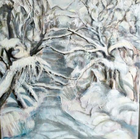 Nicole Lavallée, hivers québécois, 2018