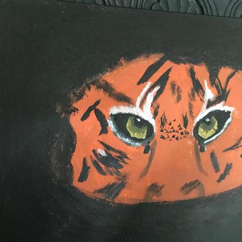 Timothé Gauthier, Le tigre, non daté