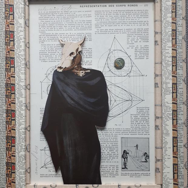 Ann Bilodeau, Page 117, balancing act  (Georgia O'keeffe), Série Encyclopédie, volume 1, 2020