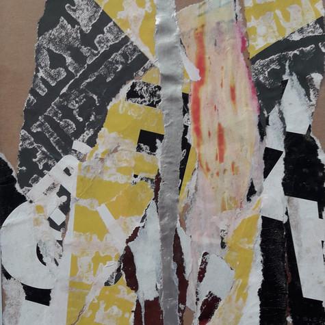Ghislaine Lejard, Le papier déchiré est beau comme la nature (Jean Arp), 2018