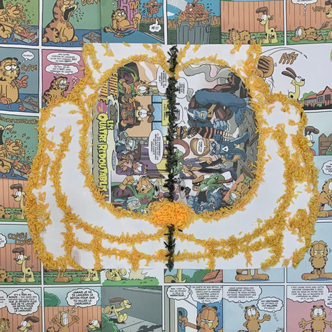 Rodrigo Gabriel Pinillos, Garfield dans le riz de la littérature, Avril 2020