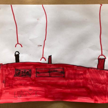 Ludovic Paquette (5 ans), Le laboratoire, 2020