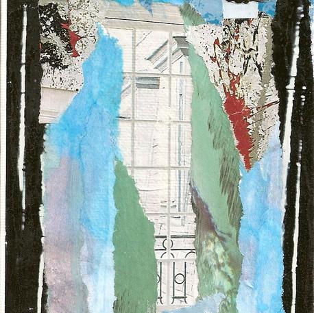 Ghislaine Lejard, De la fenêtre, non daté