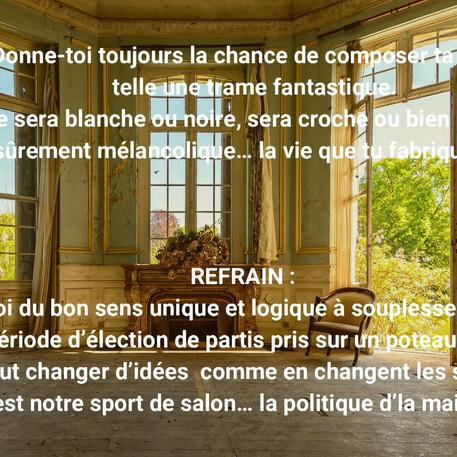 Jean-François Branchaud, La politique de la maison, 2020