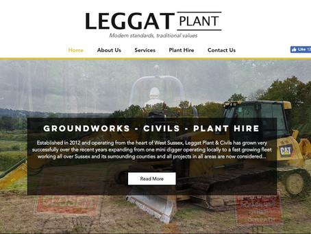 Leggat Plant Website Design