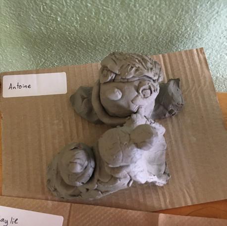Enfant de la semaine 2 : Buste d'argile