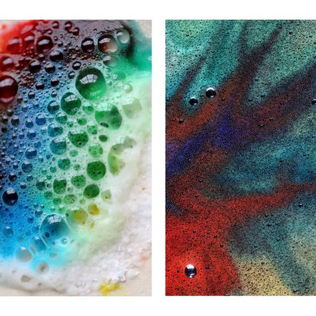 Maëlys (6 ans) et Eymeric (9 ans) Pontlevoy, L'art chimique, non daté