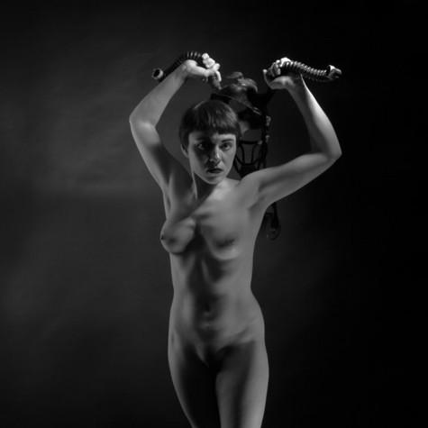 Rachel Lamoureux, les fleurs du mal, non daté