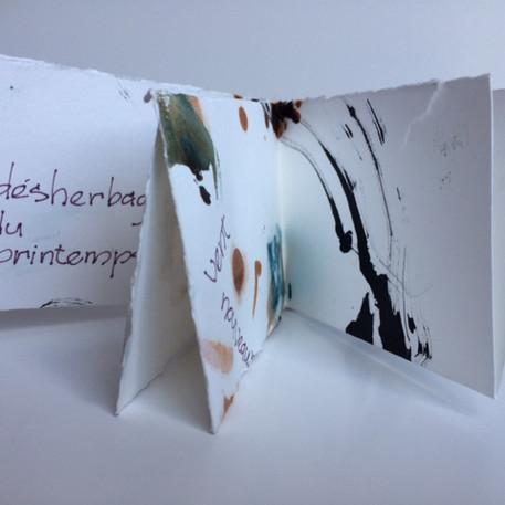 Nathalie Légaré, Livre Hommage au printemps, 2020