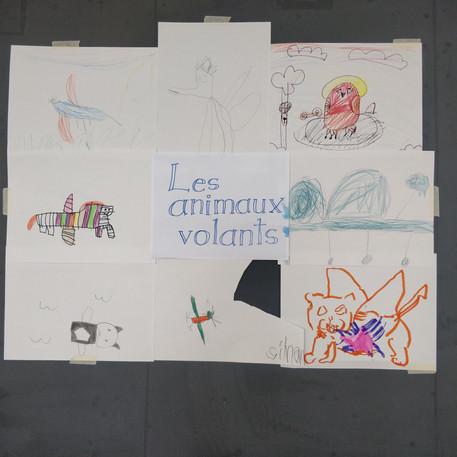 Enfants de la semaine 2 : Oeuvre collective