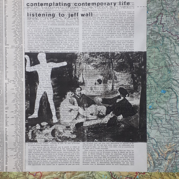 Ann Bilodeau, Page 638, contemplating contemporary life (Jeff Wall et Édouard Manet), Série Encyclopédie, volume 1, 2014