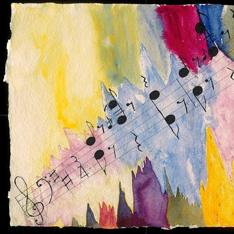 Georgette Blanchard, J'ai vu la musique (hommage au Maestro), non daté