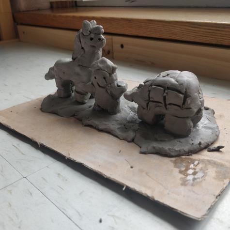 Enfant de la semaine 1 : Sculpture historique