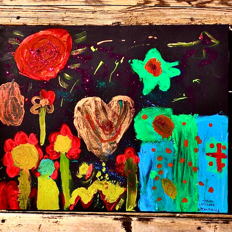 Constance Branchaud, 7 ans, Le pays des rêves, non daté