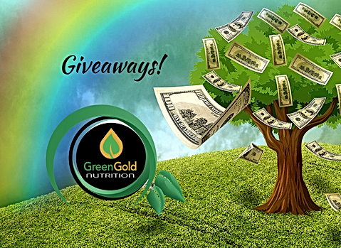 Giveways! Win pre-paid visa card! Win Supplements!