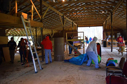 Cleaning the Barn