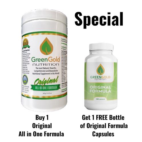 Original All-in-One Formula + Free Original Formula Capsules
