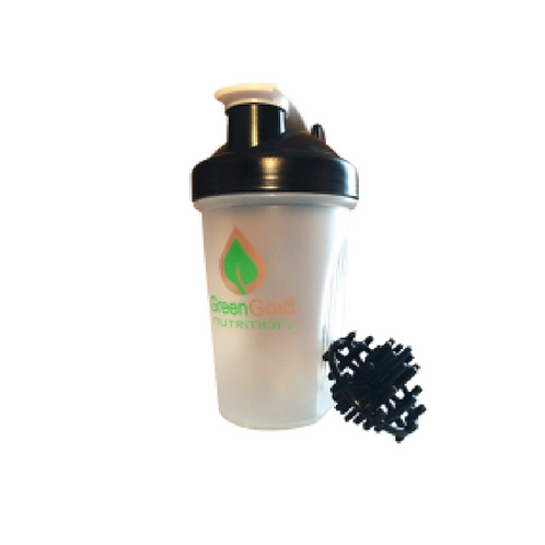 Green Gold Shaker with Mixer Ball