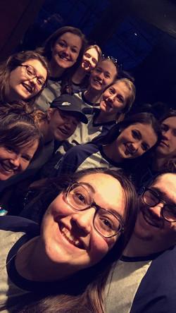 Fun bunch of girls