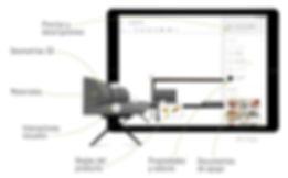 Configuración del producto - reglas del producto, geometrías, interactores visuales, materiales y datos