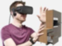Vive lo spazio con la realtà virtuale