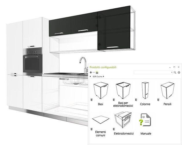 Configuratore cucina per pCon – gratuito per professionisti