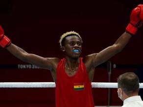 TOKYO 2020 - BOXING Brave Samuel Takyi grabs first Tokyo Olympics medal for Ghana