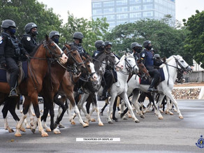 Ag. IGP Launches Horse Patrol Operations