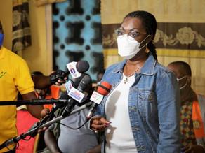 Hon Ursula Owusu Inspects Dansoman Sea Defense Project with Hon Asenso Boakye