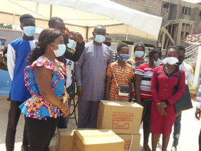 Hon. Dr. John Kumah Supports Apprentices with GH₵ 100,000 and Equipment to His Constituents
