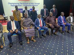 """Championing the growth of SME's through digitilisation"" - Nana Baffour Owusu Bediako"