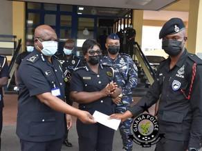 Stanbic Bank Appreciates Police Officer for Honesty