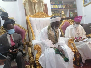 Chief Imam Contributes to National Cathedral