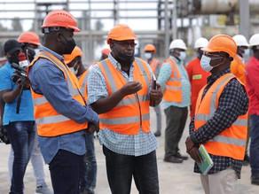 Parliamentary Leadership Visits Ghana Gas Company Ltd