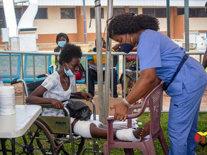 GMR Renders Free Medical Services to 3500 Persons at Kwahu Atibie