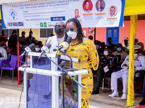 Ministry of Communication Inaugrates an ICT Library in Akim - Beini