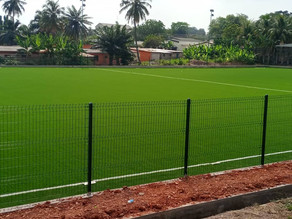 Hon Patrick Boamah commissioned an Astro Turf  at his constituency