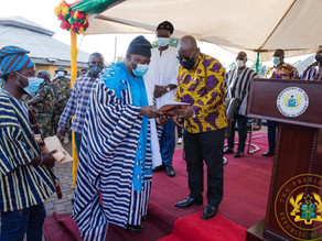 """""""YOU HAVE BROUGHT PEACE TO DAGBON; WE WILL SUPPORT YOU"""" – YA-NAA TO PRESIDENT AKUFO-ADDO"""