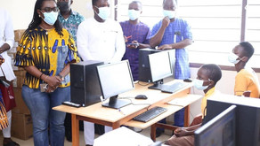 Western North: Ursula visits ICT training centres for girls during seven-day tour of region