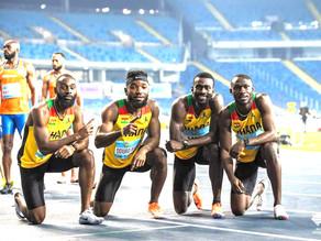 Ghana Quartet Team beat America to make it to Tokyo Olympics 4x100 finals