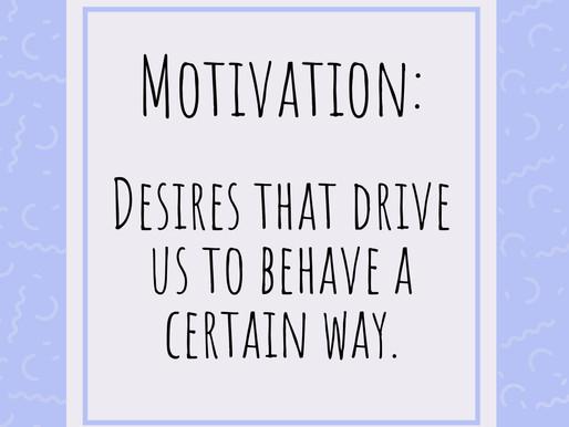 Terminology Thursday: Motivation