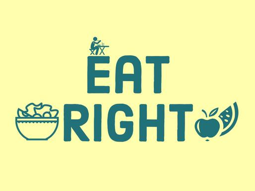 Wellness Wednesday: Eat Right