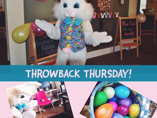 Throwback Thursday: Easter Bunny