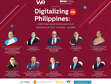 Digitalizing the Philippines: A White Paper Launch and Discussion Forum