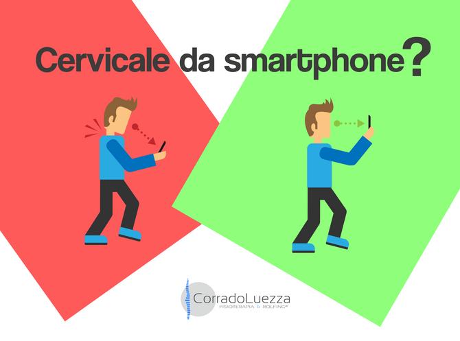 Cervicale da smartphone, cos'è e come prevenirla.