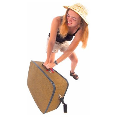 Come sollevare le valigie e vivere felici