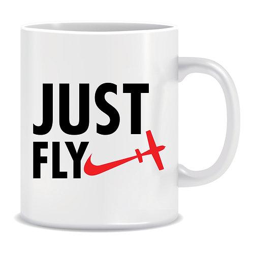Just Fly, Printed Mug
